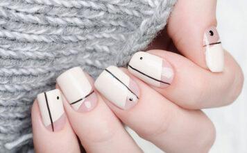 Wzory na paznokciach wykonane z użyciem przedmiotów codziennego użytku